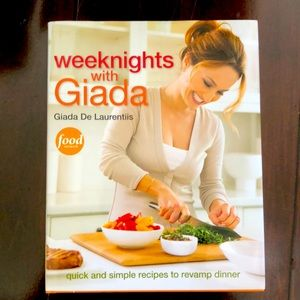 Weeknights with Giada cookbook